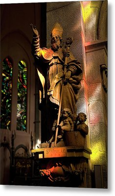 Metal Print featuring the photograph Religion by Urft Valley Art