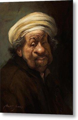 Rembrandt Metal Print by Court Jones
