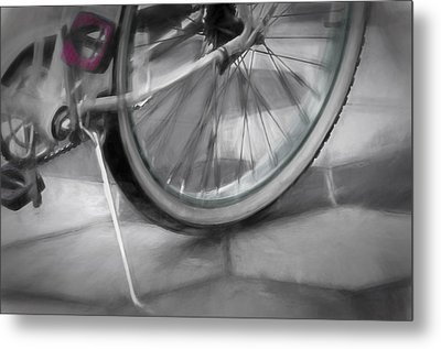 Metal Print featuring the photograph Ride With Me by Carolyn Marshall