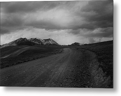 Road To Chacaltaya Metal Print