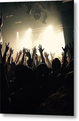 Rock And Roll Metal Print