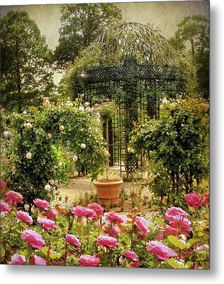Rose Arbor Metal Print by Jessica Jenney