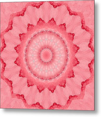 Metal Print featuring the digital art Rose by Elizabeth Lock