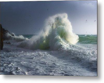 Rough Sea 5 Metal Print