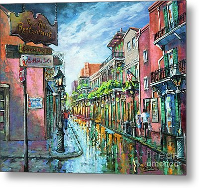 Metal Print featuring the painting Royal Lights by Dianne Parks