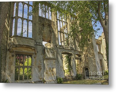 Ruins Of A Grand House Metal Print