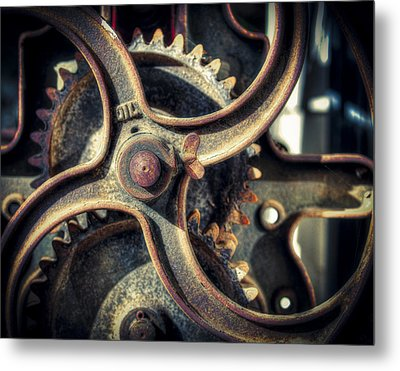 Rust Never Sleeps Metal Print