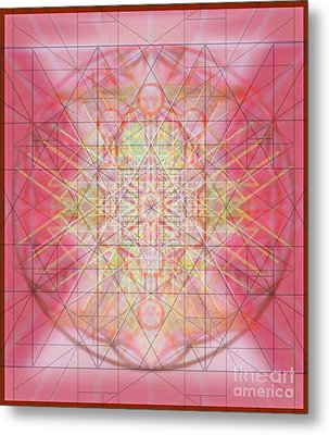 Sacred Symbols Out Of The Void 1b Metal Print by Christopher Pringer