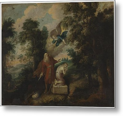 Sacrifice Of Isaac Metal Print by MotionAge Designs