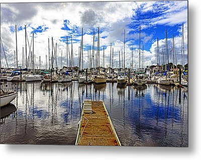 Safe Harbor Metal Print by Anthony Baatz