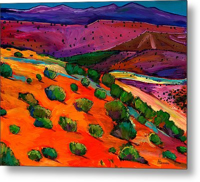 Sage Slopes Metal Print by Johnathan Harris