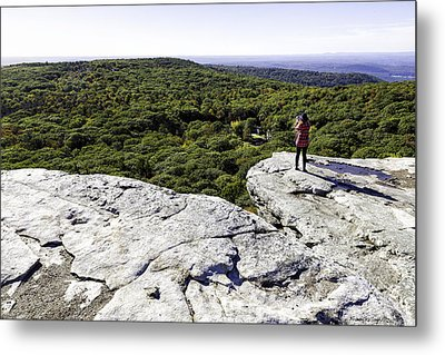 Sams Point Overlook Metal Print