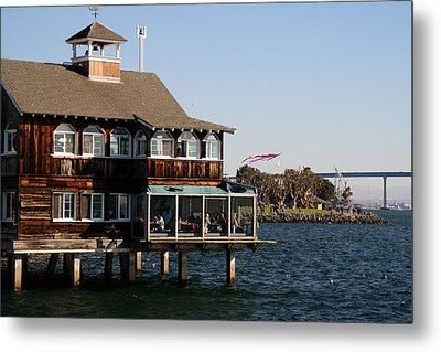 San Diego Bay Metal Print by Christopher Woods
