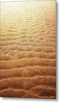 Sand Background Metal Print