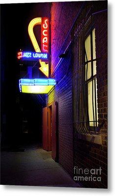 Scat Jazz Lounge 1 Metal Print