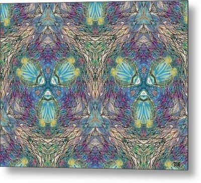 Seascape I Metal Print by Maria Watt