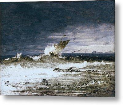 Seascape Metal Print by Peder Balke