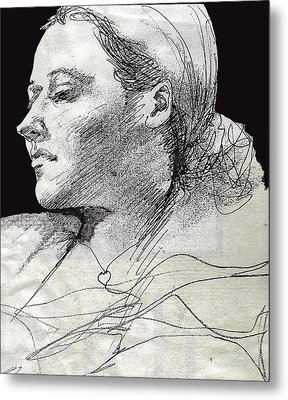 Self Portrait Metal Print by Jean Haynes