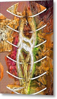 Separation Metal Print by Tyler Robbins