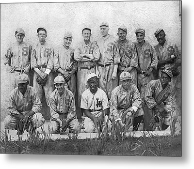 Sf Seals Baseball Team Metal Print