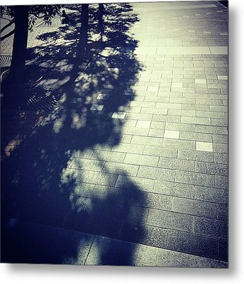 #shadow #光と影 Metal Print by Bow Sanpo