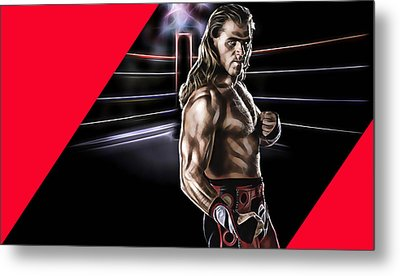 Shawn Michaels Wrestling Collection Metal Print