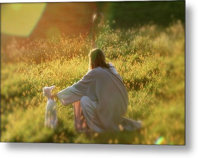 Shepherd Metal Print by Vienne Rea