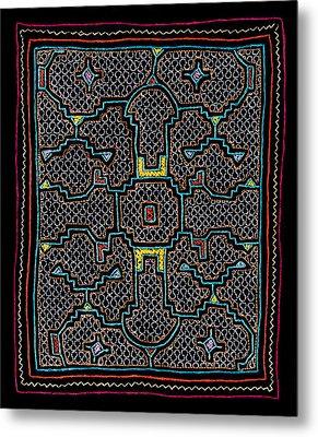 Shipibo Art Metal Print by Ulrich Schade