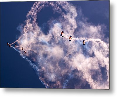 Sky Surfing Metal Print by Angel  Tarantella