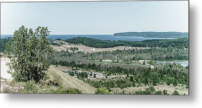 Metal Print featuring the photograph Sleeping Bear Dunes National Lakeshore by Alexey Stiop