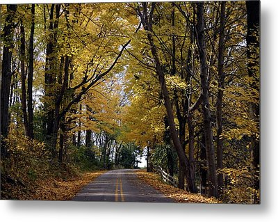 Sleepy Hollow Metal Print by Sylvia Hart