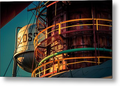 Sloss Furnaces Metal Print by Phillip Burrow