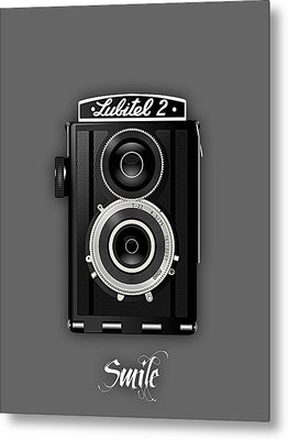 Smile For The Camera Metal Print by Marvin Blaine