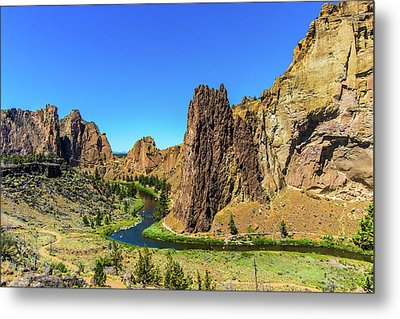 Metal Print featuring the photograph Smith Rock by Jonny D