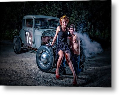 Smoke Metal Print by Jerry Golab