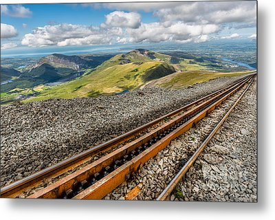 Snowdon Mountain Railway Metal Print