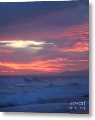 Metal Print featuring the photograph Soft Sunset by Michelle Wiarda