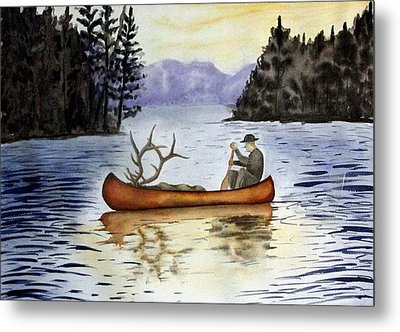 Solitude Metal Print by Jimmy Smith