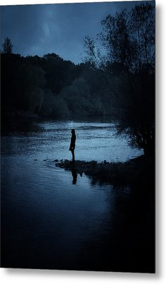 Solitude Metal Print by Cambion Art