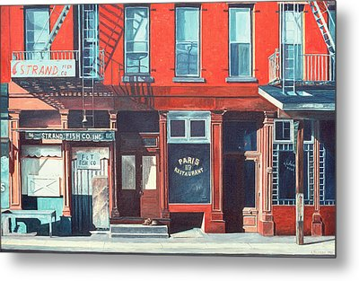 South Street Metal Print by Anthony Butera