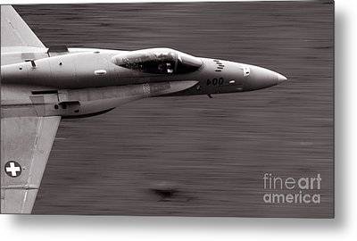 Speed Of Sound Metal Print