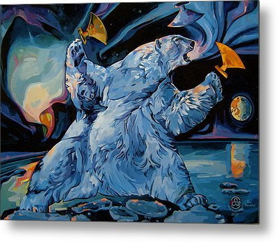 Spirit Of The Arctic Winter Games  Metal Print by Tim  Heimdal