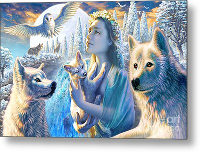 Spirit Of The Mountain Metal Print