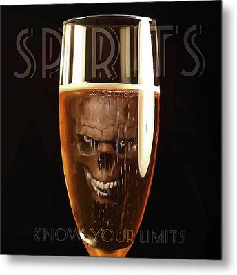 Spirits - Know Your Limits Metal Print