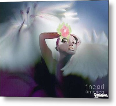 Spring Beauty Metal Print by Belinda Threeths