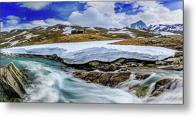 Metal Print featuring the photograph Spring Waters by Dmytro Korol