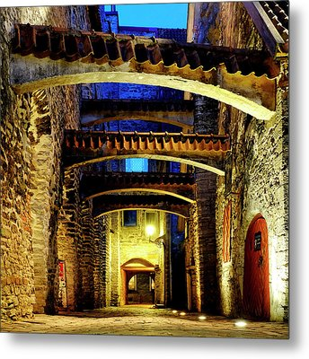 Metal Print featuring the photograph St. Catherine's Passage by Fabrizio Troiani