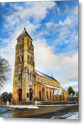 Metal Print featuring the photograph St. Edward by Gouzel -