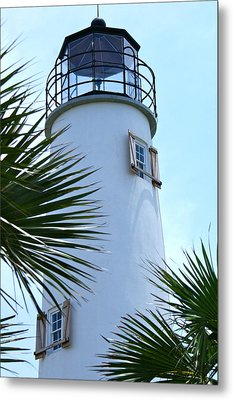 St. George Island Lighthouse Metal Print