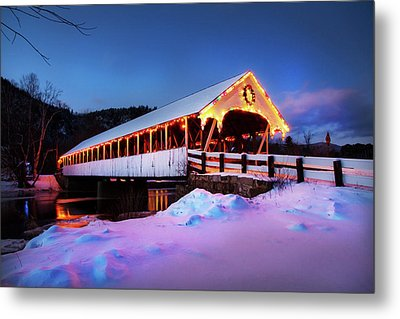 Metal Print featuring the photograph Stark New Hampshire by Robert Clifford